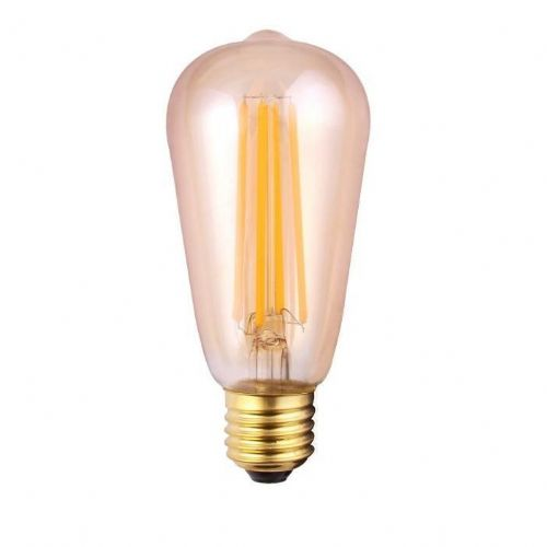 Vintage Filament Style LED Dimmable Lightbulb 8W ES Amber 190144